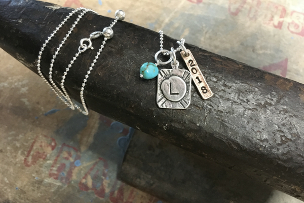 Graduation gift: Custom, versatile keepsake necklace
